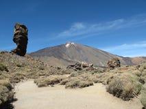 Nationalpark Teneriffa Teide lizenzfreie stockbilder