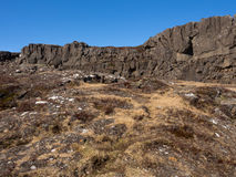 Nationalpark Thingvellir Lizenzfreies Stockfoto
