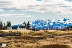 Nationalpark Thingvellir stockfotografie