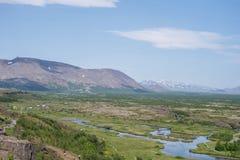 Nationalpark Thingvellir Island stockfoto
