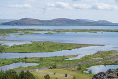 Nationalpark Thingvellir Island lizenzfreie stockbilder