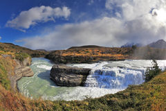Nationalpark Torres del Paine Arkivbild