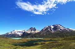 Nationalpark Torres del Paine Fotografering för Bildbyråer