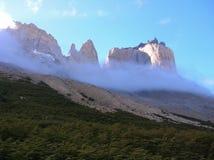 Nationalpark Torresdel Paine stockbilder