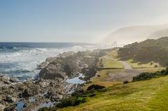 Nationalpark Tsitsikamma, Garten-Weg, der Indische Ozean, Südafrika Lizenzfreie Stockbilder