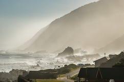 Nationalpark Tsitsikamma, Garten-Weg, der Indische Ozean, Südafrika Lizenzfreies Stockfoto