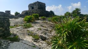 Nationalpark Tulum - Mexiko lizenzfreie stockfotografie