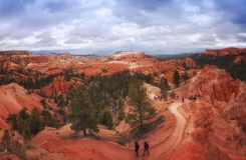 Nationalpark Utah Bryce-Schlucht Lizenzfreie Stockbilder