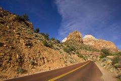 Nationalpark Utah USA Zion Stockbild