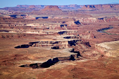 Nationalpark Vista Canyonlands Lizenzfreie Stockbilder