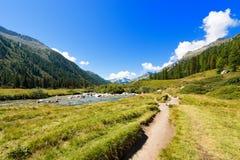 Nationalpark von Adamello Brenta - Italien Lizenzfreie Stockfotografie