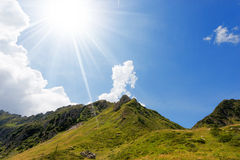 Nationalpark von Adamello Brenta - Italien Lizenzfreie Stockbilder
