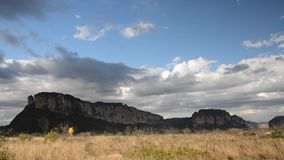 Nationalpark von Chapada Diamantina, Brasilien stock footage