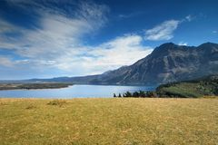 Nationalpark Waterton in Kanada Stockfoto