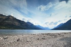 Nationalpark Waterton in Kanada Stockfotos