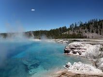 nationalpark yellowstone Arkivbilder