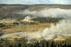nationalpark yellowstone Arkivfoto