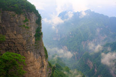 Nationalpark Zhangjiajie, Avataraberge Lizenzfreies Stockbild