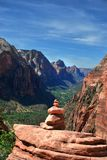 Nationalpark Zion, Utah USA lizenzfreie stockfotos