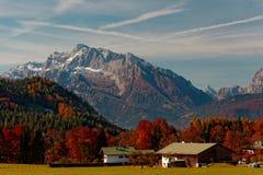 Nationalparken Berchtesgaden royaltyfri bild