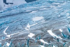 Nationalparker av Alaska royaltyfri bild