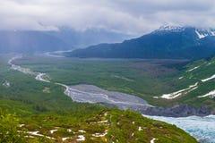 Nationalparker av Alaska royaltyfria bilder