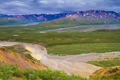 Nationalparker av Alaska arkivbilder