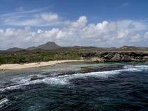 Nationalparkküstenlinie Christoffel Stockfoto