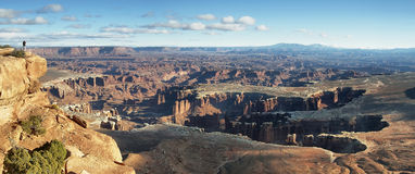 Nationalparklandschaft Canyonlands Lizenzfreies Stockfoto