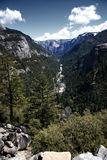 nationalparklandskap yosemite royaltyfri foto