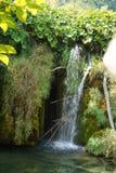 NationalparkPlitvice Kroatien för sjöar - härlig vattenfall arkivbilder