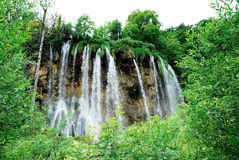 nationalparkplitvicevattenfall Arkivbilder