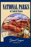 Nationalparks USA, Grand Canyon NP, Reise-Plakat stockfotografie