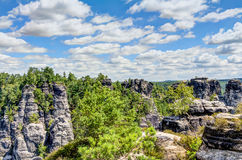 nationalparksaxon switzerland Royaltyfria Bilder