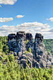 nationalparksaxon switzerland Royaltyfri Fotografi