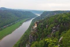 nationalparksaxon switzerland germany Arkivbild