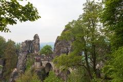 nationalparksaxon switzerland germany Royaltyfri Fotografi