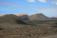 nationalparktimanfaya Arkivfoto