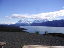 Nationalparktorres del paine chile Fotografering för Bildbyråer
