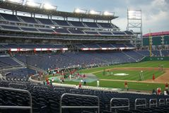 Nationals Park - Washington, DC Royalty Free Stock Images