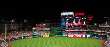 Nationals Park Washington, DC Royalty Free Stock Image