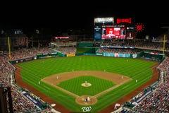Nationals Park Washington, DC. View of field at Nationals Park in Washington, DC Stock Image