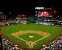 Nationals Park, Washington, DC Royalty Free Stock Photos