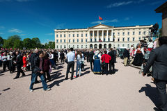 Nationaltag in Norwegen Lizenzfreies Stockbild