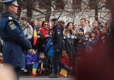 Nationaltag-Parade Stockbild