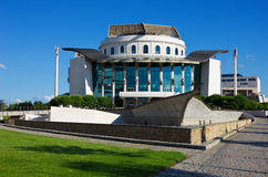 Nationaltheater in Budapest Lizenzfreies Stockbild