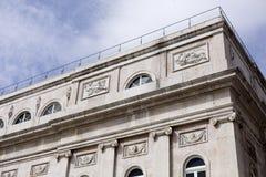 Nationaltheater Dona Maria II Stockbild