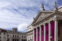 Nationaltheater Dona Maria II Lizenzfreie Stockfotos