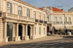 Nationaltrainer Museum. Belem-Palast. Lissabon. Portugal Lizenzfreie Stockbilder