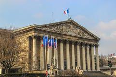 Nationalversammlung, Paris, Frankreich Lizenzfreie Stockfotos
